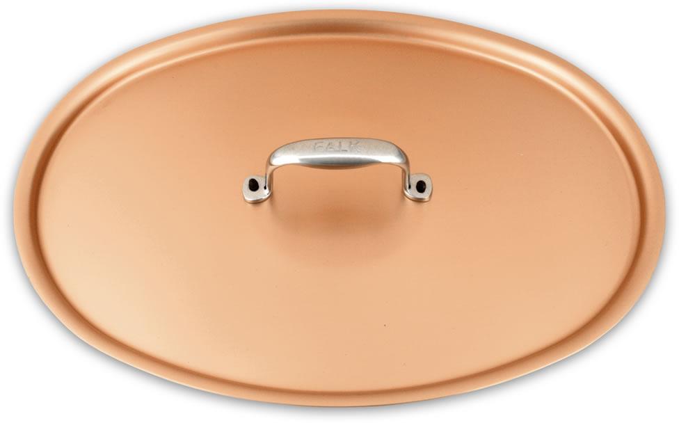 Deksel 30cm x 20cm deksel falk signatuur reeks falk copper cookware - Deksel x ...