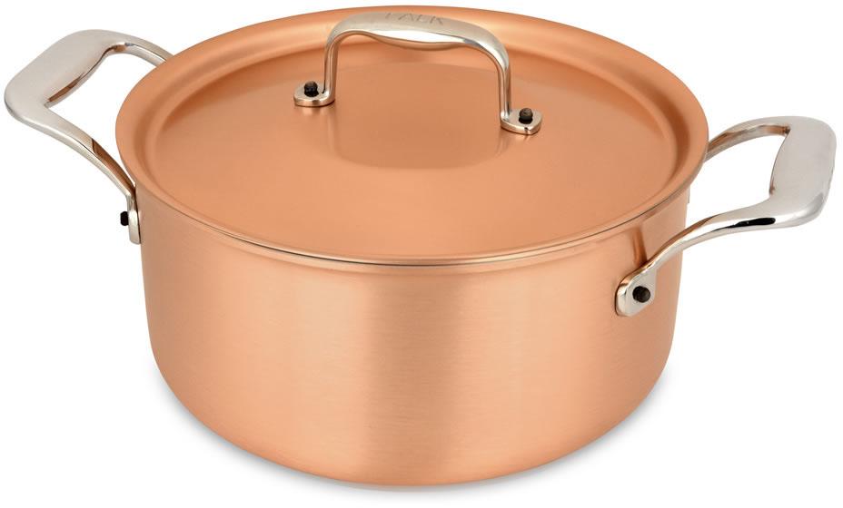 casserole 18cm casserole et pot au feu falk s 233 rie signature falk copper cookware