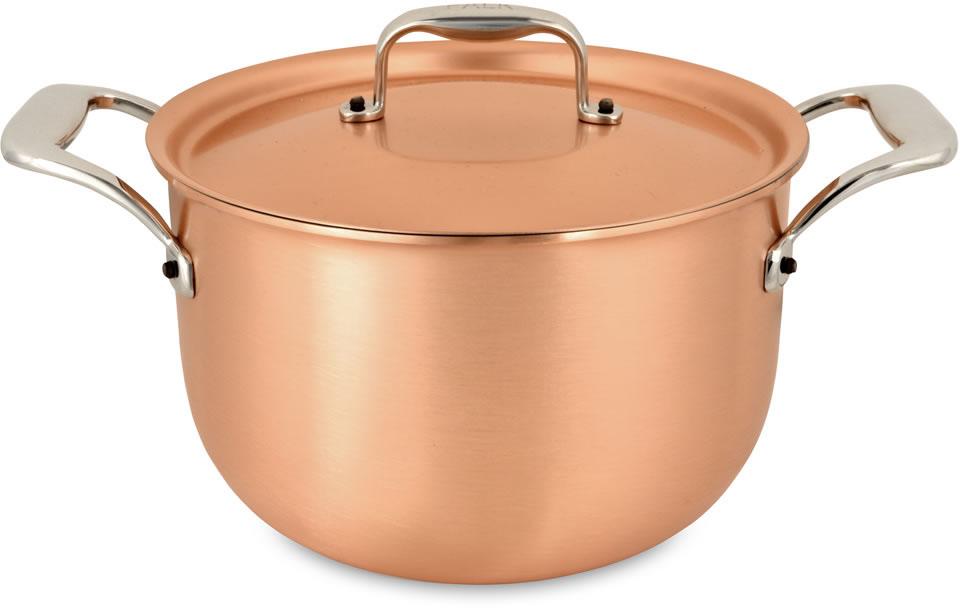 pot au feu 20cm casserole and pot au feu falk signature range falk copper cookware
