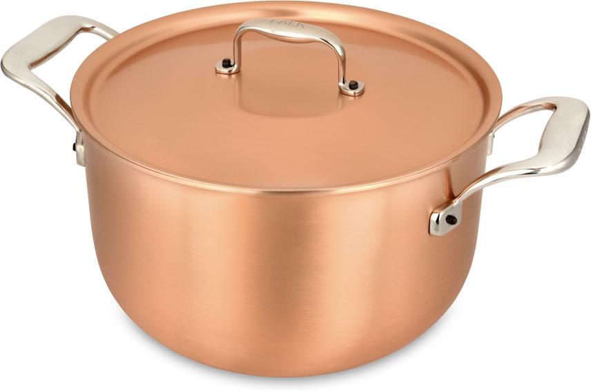 pot au feu 24cm casserole et pot au feu falk s 233 rie signature falk copper cookware
