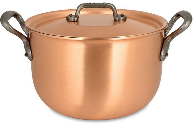 pot au feu 20cm kookpot en pot au feu falk klassieke reeks falk copper cookware