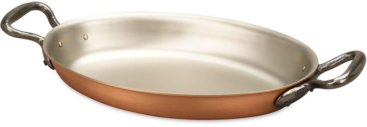 Oval Gratin Pan 25cm X 17cm Gratin Pan Falk Classical