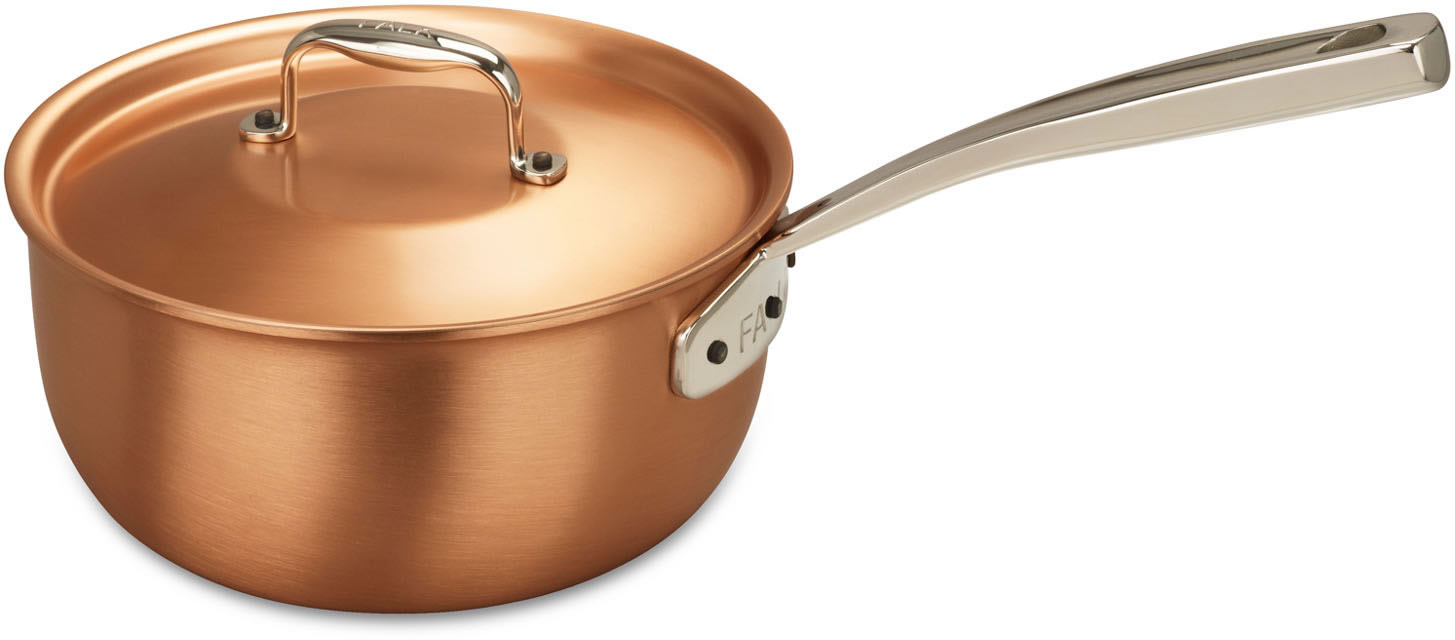 Mousseline Pan Falk Signature Range Falk Copper Cookware